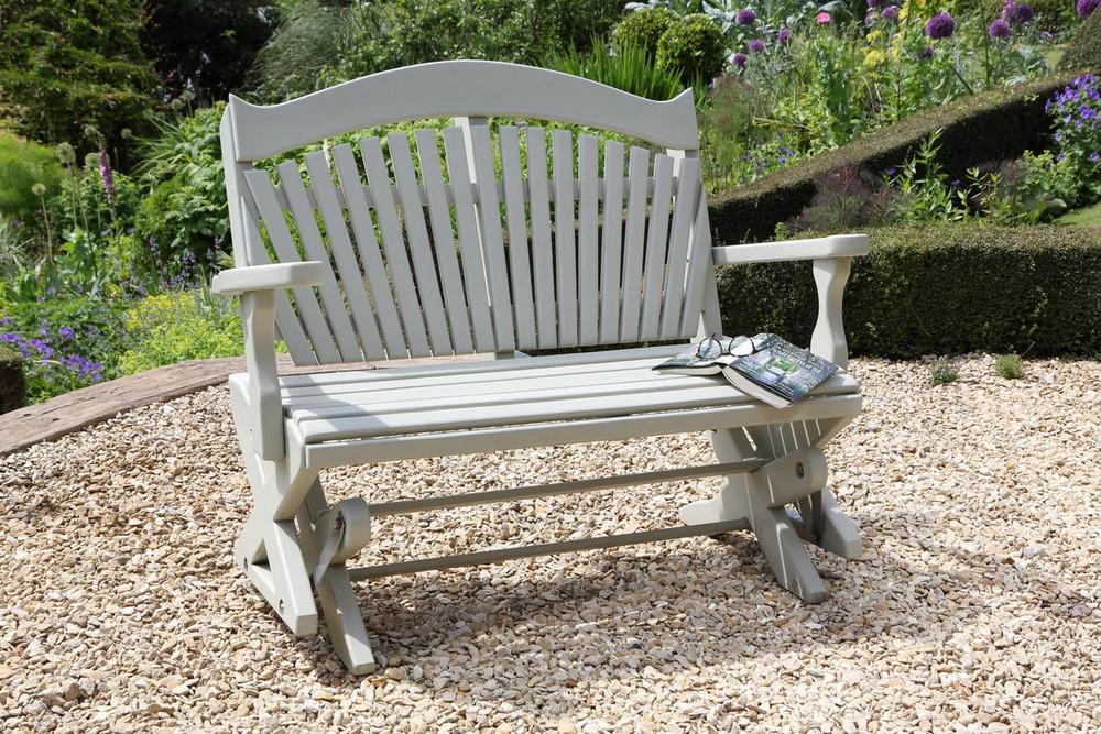The Rockabye Garden Seat Sitting Spiritually