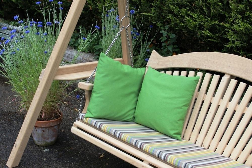 swing seat cushions sitting spiritually. Black Bedroom Furniture Sets. Home Design Ideas