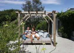 Maximum Relaxation....The Swinging Day Bed