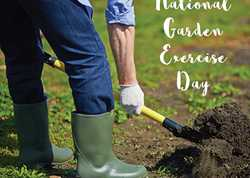 National Gardening Exercise Day - 6th June 2020