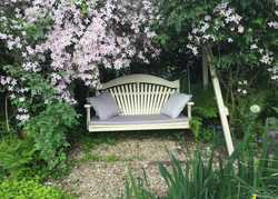What to plant around your swing seat.....