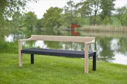 Garden Bench - The Floating Bench - Contemporary Garden Furniture