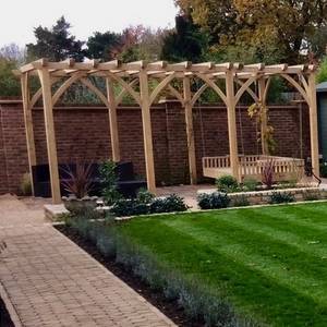 Bespoke Pergola & Day Bed