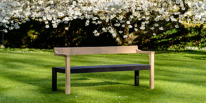Contemporary Garden Bench