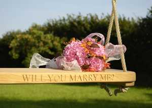 Inscribe Your Wooden Swing Seat UK