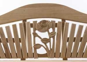 Mackintosh Style Rose Carving