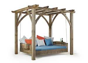 Outdoor Swinging Day Bed