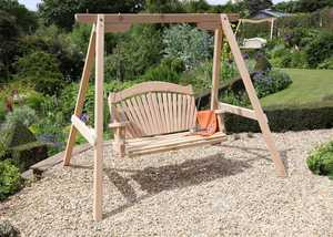 Serenity Garden Swing Seat in Western Red Cedar
