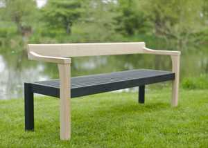 The Simon Thomas Pirie Floating Bench