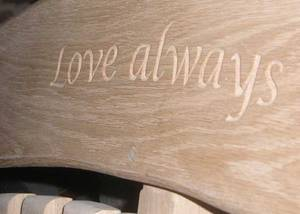 Love Always Carving