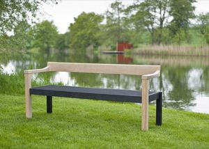 The Floating Garden Bench | Contemporary Garden Furniture