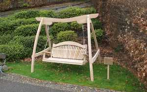 Oak Swing Seat at The Eden Project