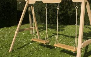 A Frame Garden Furniture with Swings
