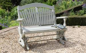 Rocking Bench for the Garden