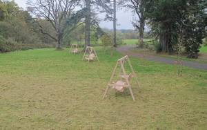 See Our Swing Seats at Dumfries House