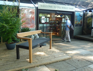 The RHS Floating Bench at RHS Wisley