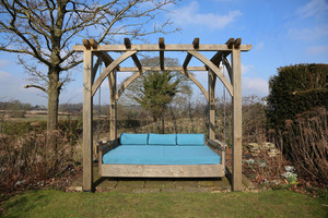 The Swinging Day Bed, perfect in all seasons