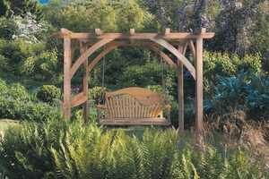 Pergola for your garden Lyme Regis by Sitting Spiritually - Bespoke Swings