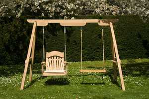 The Trilogy - One frame Three Seating Choices by Sitting Spiritually - Bespoke Swings For All Ages