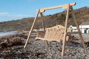 Tranquillity Oak Garden Swing Seat UK