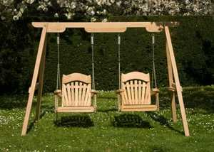 Two Single Swing Seats