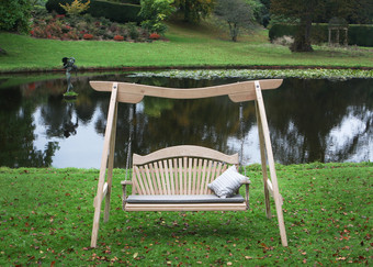 Kyokusen Swing Seat at Forde Abbey