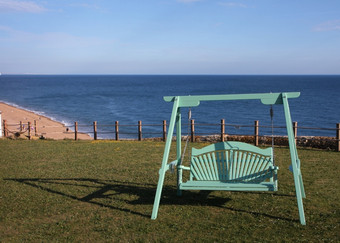 Swing Seat Harmony Painted Pine in Arsenic