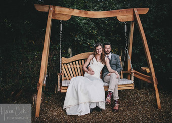 Wedding Swing Seat Garden UK