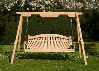 Wooden Swing Seat - The Trilogy