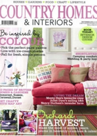 Country Homes and Interiors September 2012