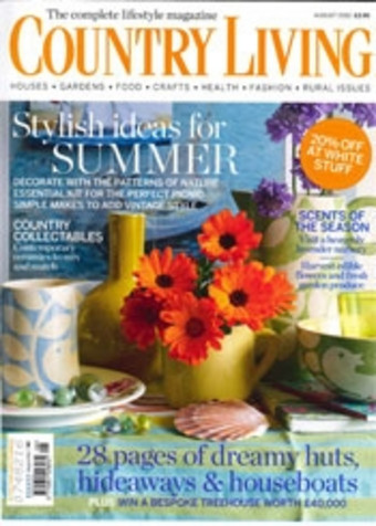Country Living August 2012