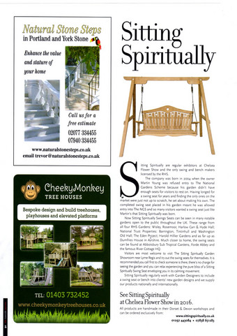 Sitting Spirituallly in The Riverside Journals Festive 2015/16