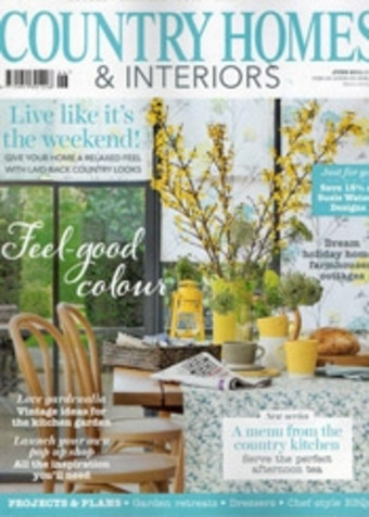 Sitting Spiritually in Country Homes and Interiors May 2014