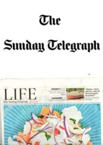 Sitting Spiritually in Sunday Telegraph 2013