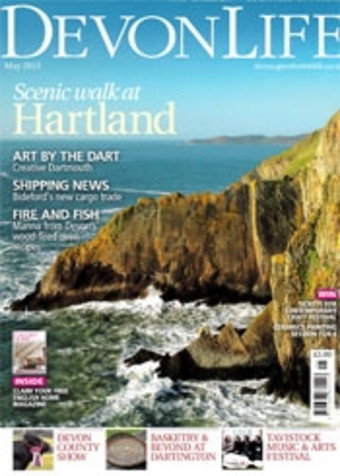 Sitting Spiritually Swing Seats in Devon Life April 2013