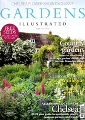 Sitting Spiritually Swing Seats in Gardens Illustrated May 2013