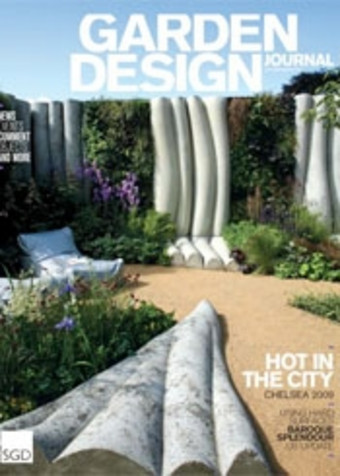 Sitting Spiritually Swing Seats in the Garden Design Journal November 2012