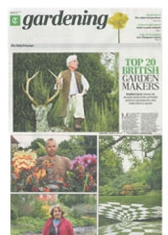 Sitting Spiritually Swing Seats in the Telegraph Gardening Special June 2012