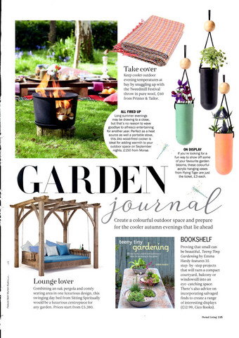 The Swinging Day Bed in Period Living September 2017