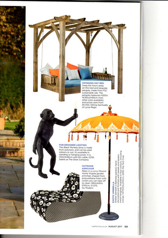 The Swinging Day Bed in Real Homes August 2017