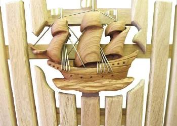 Galleon Carving