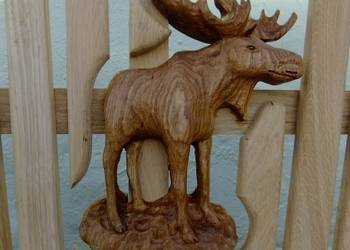 Moose Carving