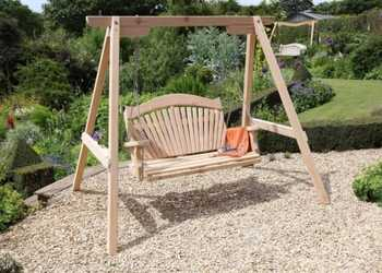 Garden Swing Seats with Customisable Inscriptions