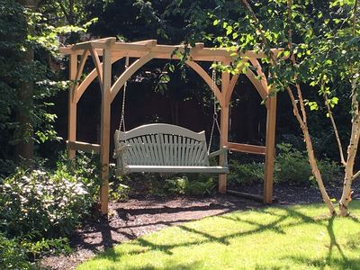 Bespoke Pergola Garden Furniture