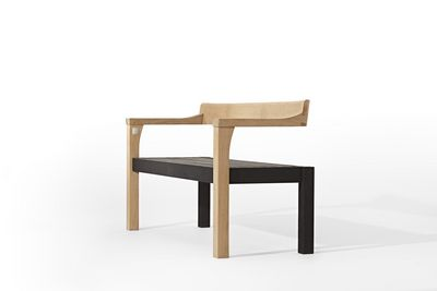 Contemporary Garden Furniture The Floating Bench