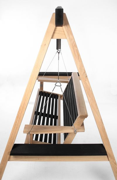 Contemporary Garden Swing Seat Cut Out