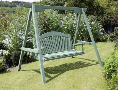 Garden Swing Seat The Harmony Range In Pine Buy Now