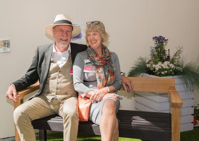 Martin & Celia on The Floating Bench