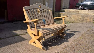 Rockabye Rocking Garden Bench