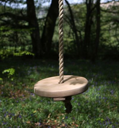 Round Oak Rope Swing